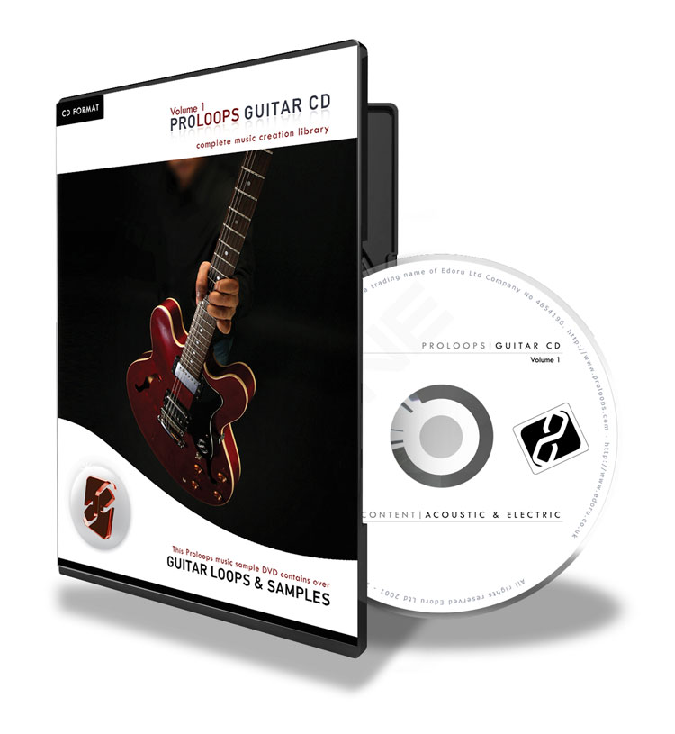 Acoustic and Electric Guitar Loops CD vol 1