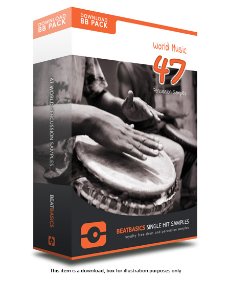 World Percussion Samples v1 - Single hit drum samples